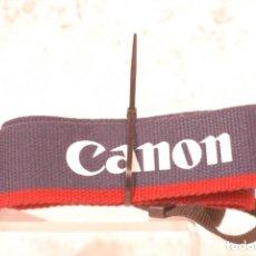 Cámara de fotos: CORREA CAMARA CANON SEGUNDA MANO. Lote 177469354