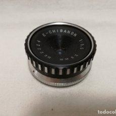Appareil photos: LENTE E - CHIBANON 1 : 3.5 / 25MM. Lote 177775708