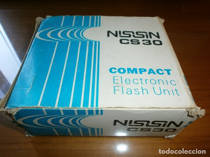 FLASH NISSIN MODELO CS30 COMPACT ELECTRONIC FLASH UNIT (Cámaras Fotográficas Antiguas - Objetivos y Complementos )