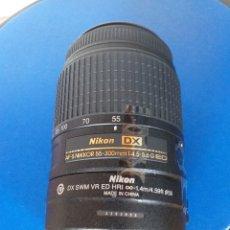 Cámara de fotos: NIKON AF-S DX NIKKOR 55-300MM 4.5-5.6G ED. Lote 178032030