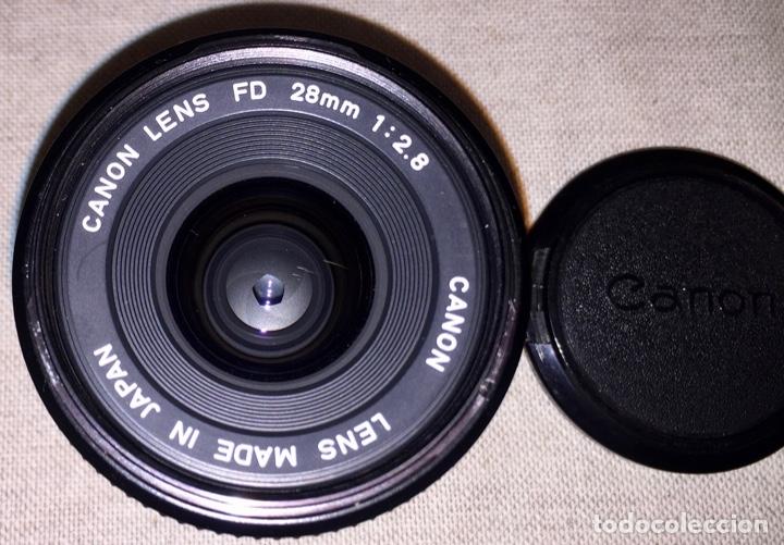 Cámara de fotos: Canon Objetivo FD 28 mm - Foto 3 - 178037699