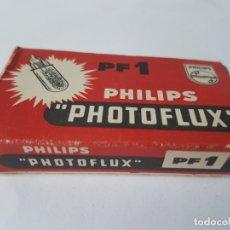 Cámara de fotos: CAJA BOMBILLAS PHILIPS PHOTOFLUX PF-1, . Lote 178222707