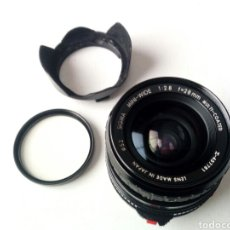 Cámara de fotos: (MONTURA CANON FD) SIGMA MINI-WIDE 28MM 1:2.8 - MADE IN JAPAN - ANGULAR PARA AE-1, A1, AT1, AV1.... Lote 178339981