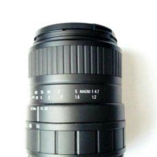 Cámara de fotos: OBJETIVO (MONTURA NIKON AF) - SIGMA ZOOM 70-210 D 1:4-5.6 UC-II - DIGITAL & FILM -. Lote 178590330