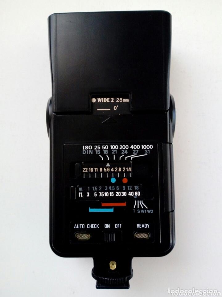 Cámara de fotos: Lote 4 FLASHES para cámaras analógicas - Flash - Réflex - Film Camera - Vintage - Años 80/90 - Foto 7 - 178592292