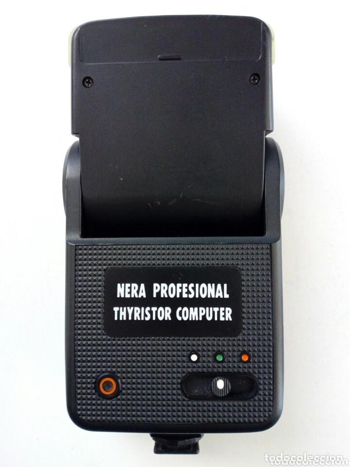 Cámara de fotos: Lote 4 FLASHES para cámaras analógicas - Flash - Réflex - Film Camera - Vintage - Años 80/90 - Foto 8 - 178592292
