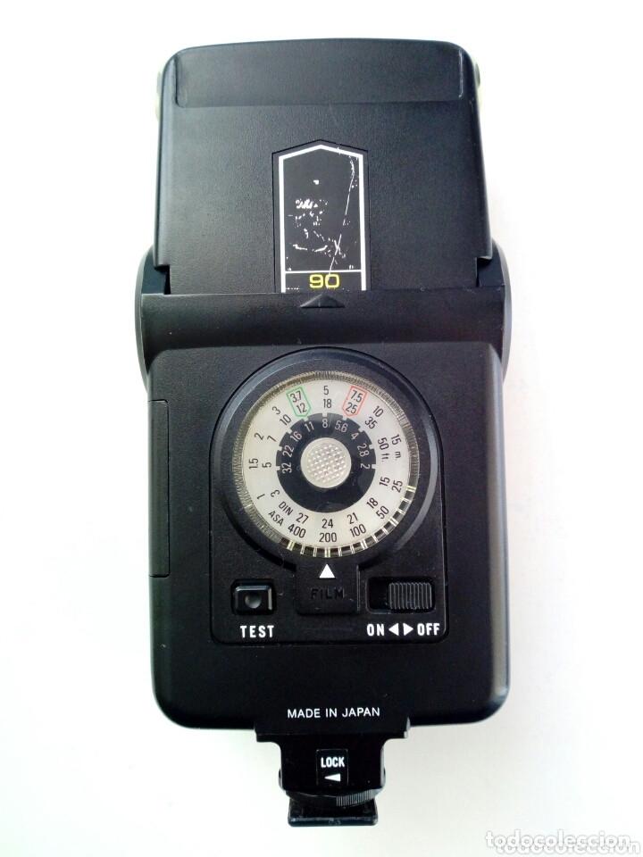 Cámara de fotos: Lote 4 FLASHES para cámaras analógicas - Flash - Réflex - Film Camera - Vintage - Años 80/90 - Foto 9 - 178592292