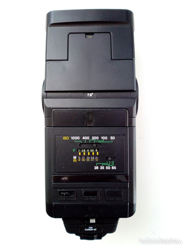 Cámara de fotos: Lote 4 FLASHES para cámaras analógicas - Flash - Réflex - Film Camera - Vintage - Años 80/90 - Foto 13 - 178592292