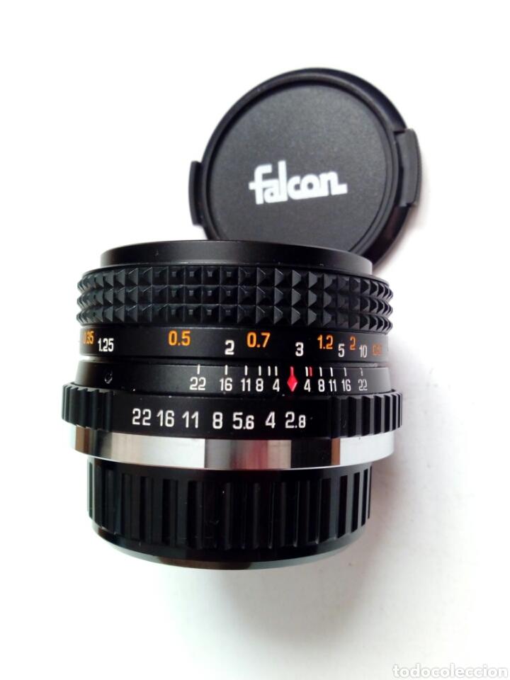 Cámara de fotos: (Montura Pentax K) Objetivo FALCON AUTO MC 28mm 1:2.8 - Made in Japan - Angular, montura bayoneta PK - Foto 2 - 178600870