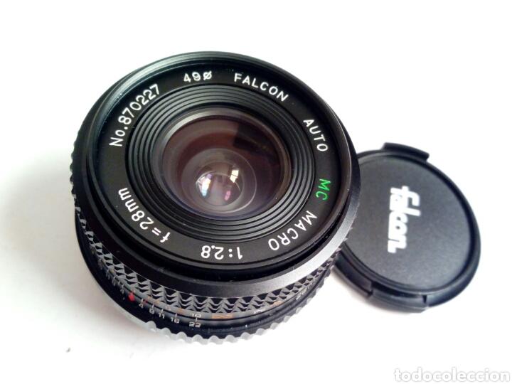 Cámara de fotos: (Montura Pentax K) Objetivo FALCON AUTO MC 28mm 1:2.8 - Made in Japan - Angular, montura bayoneta PK - Foto 3 - 178600870