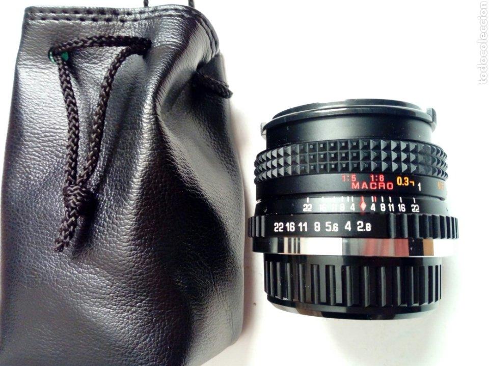 Cámara de fotos: (Montura Pentax K) Objetivo FALCON AUTO MC 28mm 1:2.8 - Made in Japan - Angular, montura bayoneta PK - Foto 6 - 178600870
