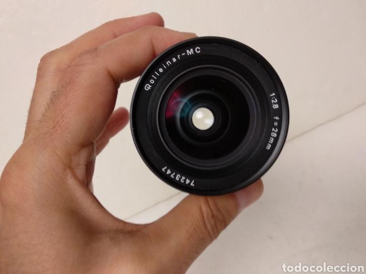Cámara de fotos: Excelente Objetivo ROLLEINAR MC 1:2.8 f= 28 mm para Rollei SL35.Funciona - Foto 3 - 178643000