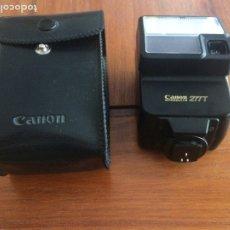 Cámara de fotos: CANON SPEEDLITE 277T - CON SU FUNDA. Lote 179014315