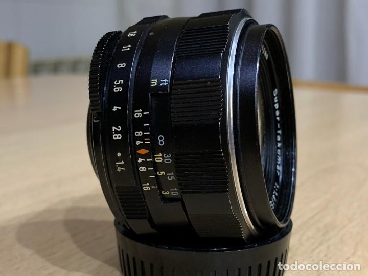 Cámara de fotos: Super Takumar 50mm 1.4 montura M42 - Foto 2 - 179125893