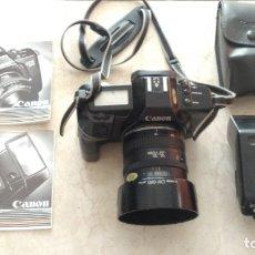 Cámara de fotos: CAMARA FOTOGRAFICA CANON EOS 650 CON OBJETIVO 35-70 Y FLASH 300 EZ. Lote 179135320
