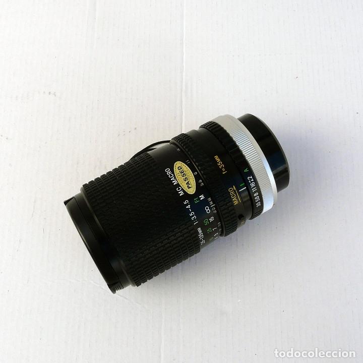 Cámara de fotos: OBJETIVO PARA CANON FD 35-135mm f3.5-4.5 MACRO MARCA COSINA - Foto 2 - 179224681