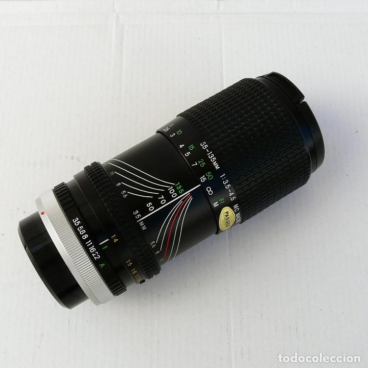 Cámara de fotos: OBJETIVO PARA CANON FD 35-135mm f3.5-4.5 MACRO MARCA COSINA - Foto 5 - 179224681