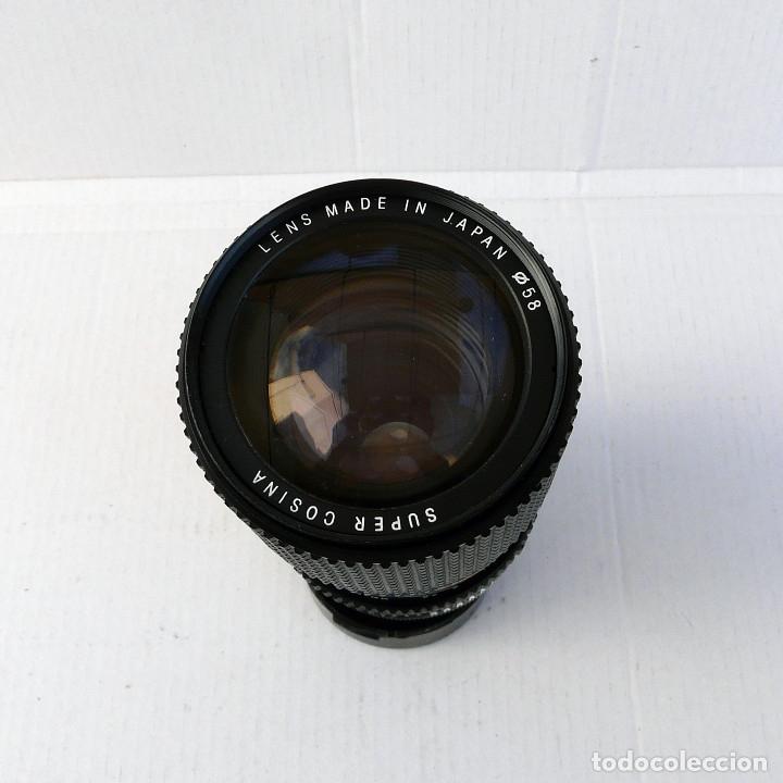 Cámara de fotos: OBJETIVO PARA CANON FD 35-135mm f3.5-4.5 MACRO MARCA COSINA - Foto 6 - 179224681