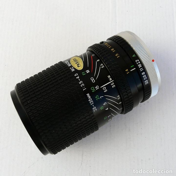 Cámara de fotos: OBJETIVO PARA CANON FD 35-135mm f3.5-4.5 MACRO MARCA COSINA - Foto 10 - 179224681
