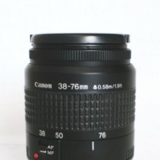 Cámara de fotos: OBJETIVO - CANON ZOOM LENS EF 38-76 MM 1:4.5-5.6 - EOS - FILM & DIGITAL. Lote 179551730
