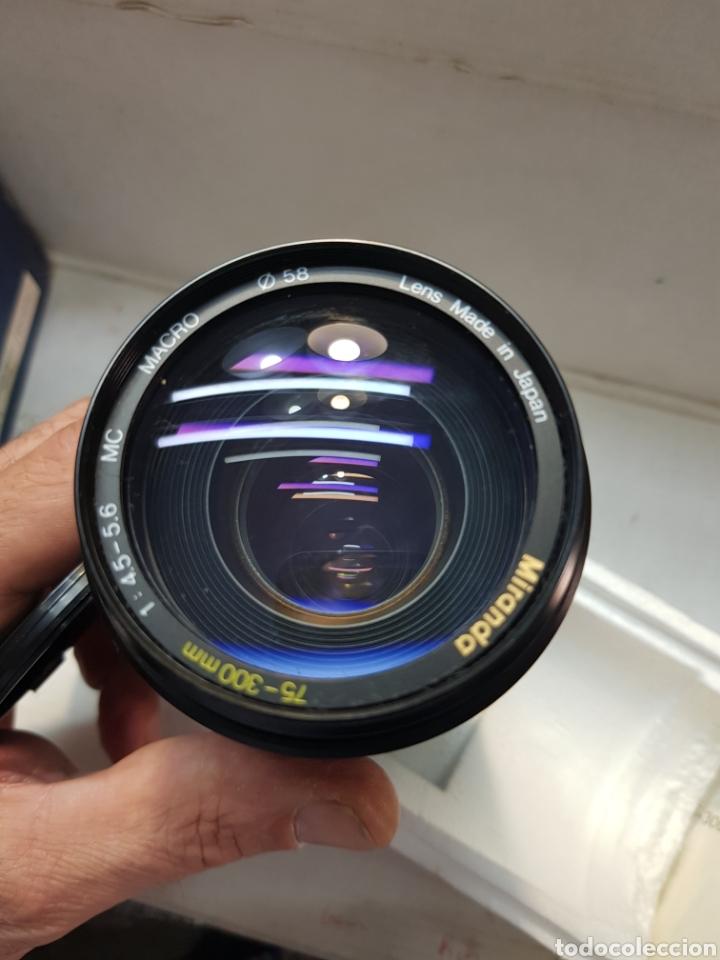 Cámara de fotos: Objetivo Miranda 75-300mm Macro Lens en caja original y manual - Foto 4 - 179939515