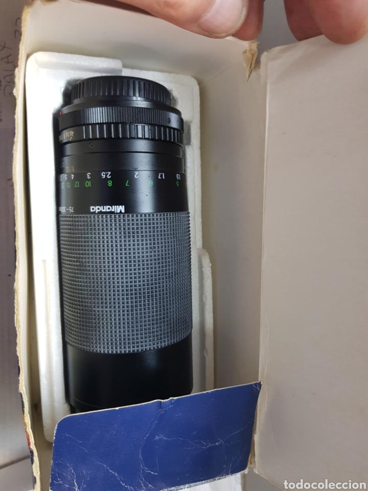 Cámara de fotos: Objetivo Miranda 75-300mm Macro Lens en caja original y manual - Foto 6 - 179939515