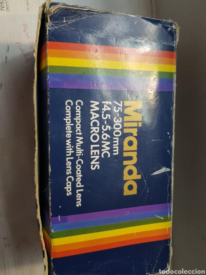 Cámara de fotos: Objetivo Miranda 75-300mm Macro Lens en caja original y manual - Foto 10 - 179939515