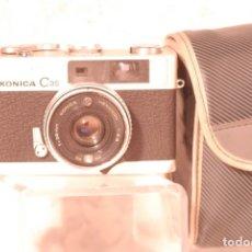 Cámara de fotos: CAMARA KONJCA C.35 SEGUNDA MANO NO FUNCIANA FUNDA. Lote 180338775
