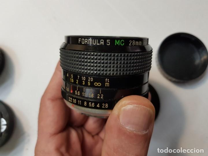Cámara de fotos: Objetivo FORMULA 5 modelo MC 28mm - Foto 2 - 180842348
