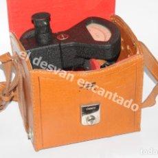 Cámara de fotos: ANTIGUO FOTOMETRO O MEDIDOR DE LUZ. EN FUNDA ORIGINAL. AÑOS 1950 APROX.. Lote 181005551