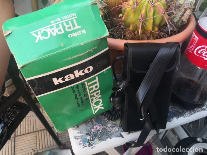 CARGADOR KAKO PARA FLASH MODELO S-4 (Cámaras Fotográficas Antiguas - Objetivos y Complementos )