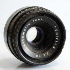 Cámara de fotos: OBJETIVO 50 MM DOMIPLAN F2.8/50 PARA CÁMARAS ANALÓGICAS. Lote 181899986