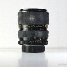 Cámara de fotos: OBJETIVO PARA PENTAX PK-A 35-80MM F3.5-4.8 MACRO MAREXAR-CX. Lote 182410948
