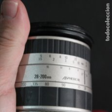 Cámara de fotos: ZOOM SIGMA AF 28-200 1:3.8-5,6 (BAYONETA SIGMA). Lote 182989512