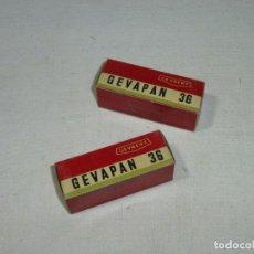 Cámara de fotos: 2 CARRETES GEVAERT 120 - GEVAPAN 36.PRECINTADO.. Lote 184896817