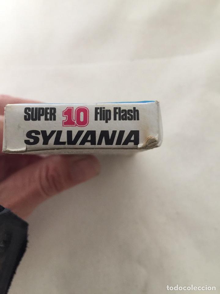 Cámara de fotos: ANTIGUO FLASH DE SYLVANIA - SUPER 10 - FLIP FLASH - EN SU CAJA - Foto 5 - 185704853