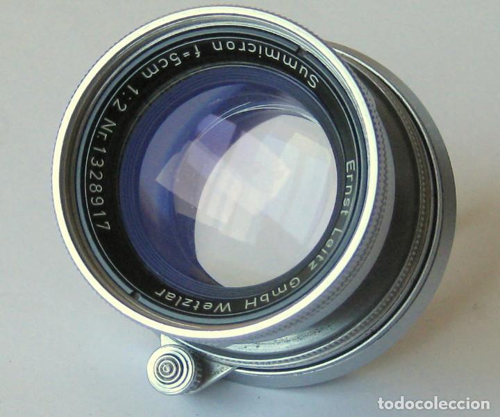 Cámara de fotos: Leica Objetivo Summicron plegable 2/50 bayoneta M. - Foto 2 - 185709851