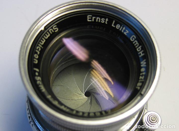 Cámara de fotos: Leica Objetivo Summicron plegable 2/50 bayoneta M. - Foto 4 - 185709851