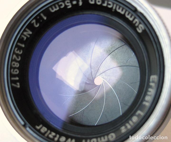 Cámara de fotos: Leica Objetivo Summicron plegable 2/50 bayoneta M. - Foto 5 - 185709851