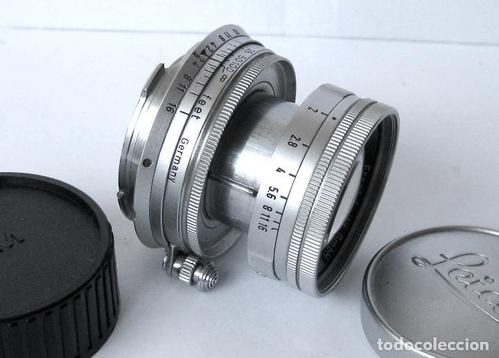 Cámara de fotos: Leica Objetivo Summicron plegable 2/50 bayoneta M. - Foto 7 - 185709851