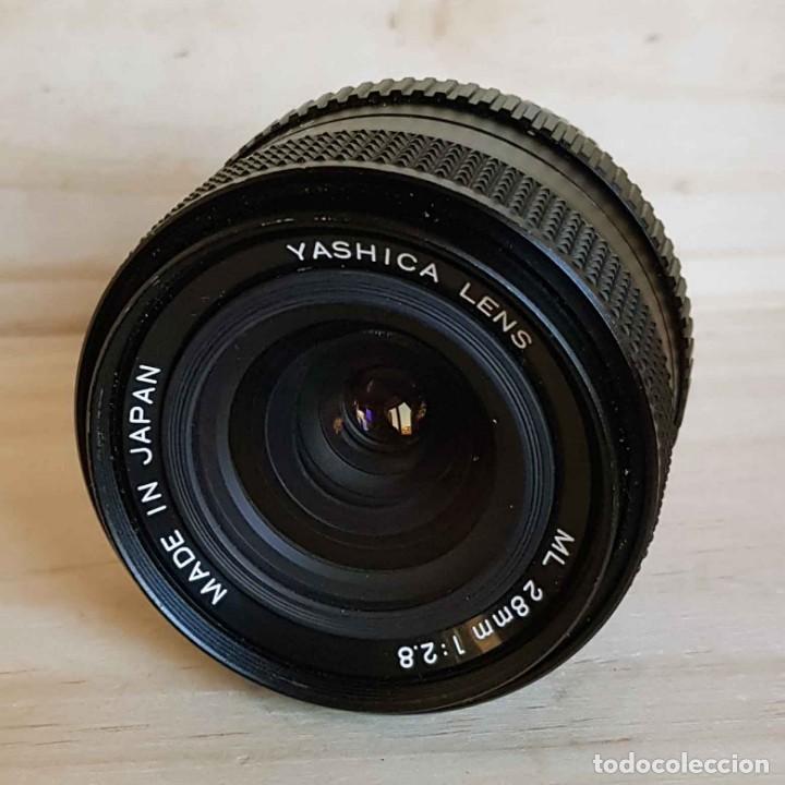 OBJETIVO YASHICA ML 2.8/28 MM, PARA YASHICA Y CONTAX (Cámaras Fotográficas Antiguas - Objetivos y Complementos )
