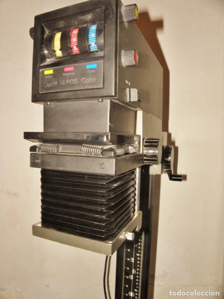 AMPLIADORA-DE-COLOR-DURST-M605-AMPLIADORA- CON LENTE NIKON (Cámaras Fotográficas Antiguas - Objetivos y Complementos )