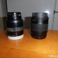 Cámara de fotos: OBJETIVO CANON 28 - 80 / 0,38M 1.3 FT + MINOLTA AF 35 - 70 / 0.5M - 1.6FT. Lote 187532255
