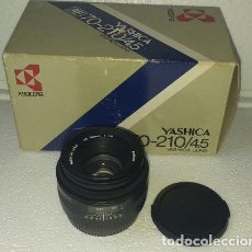 Cámara de fotos: OBJETIVO YASHICA AF 50MM F1:1.8 EXCELENTE ESTADO !!!. Lote 188658246