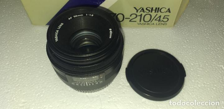 Cámara de fotos: OBJETIVO YASHICA AF 50mm f1:1.8 EXCELENTE ESTADO !!! - Foto 2 - 188658246