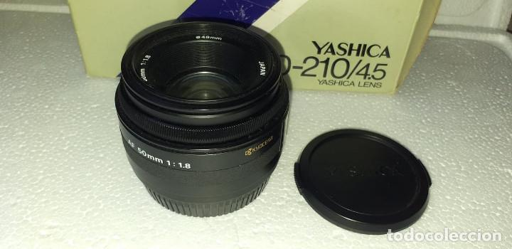 Cámara de fotos: OBJETIVO YASHICA AF 50mm f1:1.8 EXCELENTE ESTADO !!! - Foto 3 - 188658246