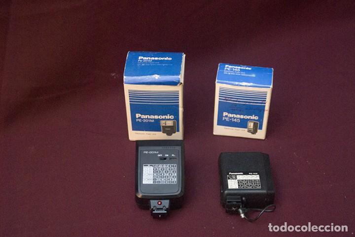 Cámara de fotos: Flash Panasonic Pe 201 M y Pe 145 - Foto 2 - 189215842