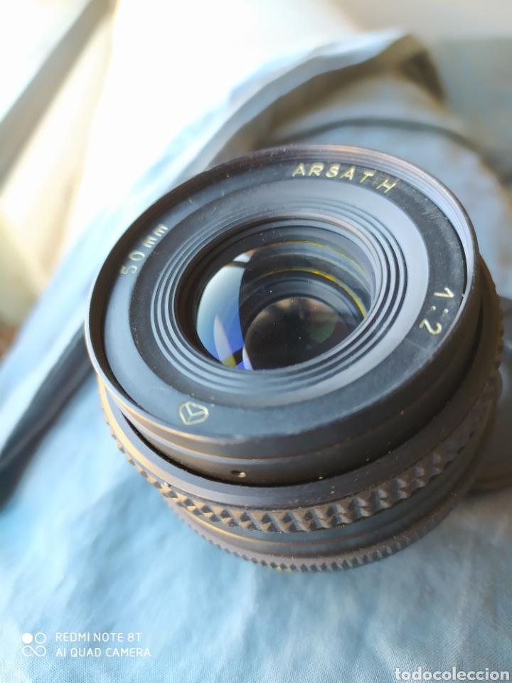 Cámara de fotos: Objetivo Ruso para Nikon - HARSAT- H ( HELIOS 81), f2 / 50mm MC - Foto 2 - 189677242