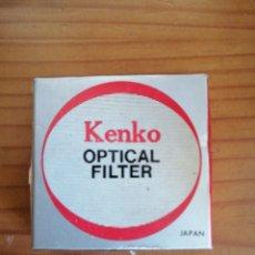 Cámara de fotos: FILTER OPTICAL KENKO NUEVA. Lote 190512608