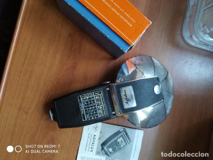 Cámara de fotos: Flash Agfa lux con caja - Foto 3 - 190827055
